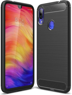 Flipkart SmartBuy Back Cover for Mi Redmi Note 7, Mi Redmi Note 7 Pro, Mi Redmi Note 7S(Black, Camera Bump Protector)