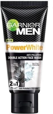Garnier Men Power White Double Action Face Wash(50 g)