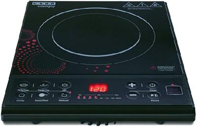 Usha Cook Joy (3616) 1600-Watt Induction Cooktop (Black) Induction Cooktop(Black, Push Button)