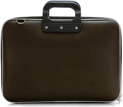 avishi 15.6 inch Laptop Messenger Bag Brown avishi Laptop Bags
