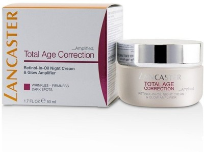 Lancaster Total Age Correction Amplified - Retinol-In-Oil Night Cream & Glow Amplifier_3326(50 ml) at flipkart