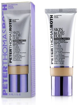 Peter Thomas Roth Skin to Die For Mineral Matte CC Cream SPF 30 - #Medium_4187(30 ml) at flipkart