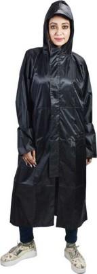 Kihome Solid Men & Women Raincoat