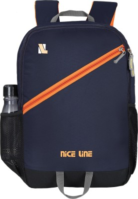 NICE LINE BLUE BACKPACK01 Rucksack  - 24 L(Blue)