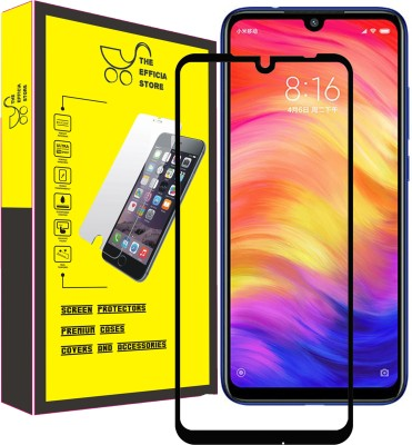Efficia Edge To Edge Tempered Glass for Mi Redmi Note 7 Pro(Pack of 1)