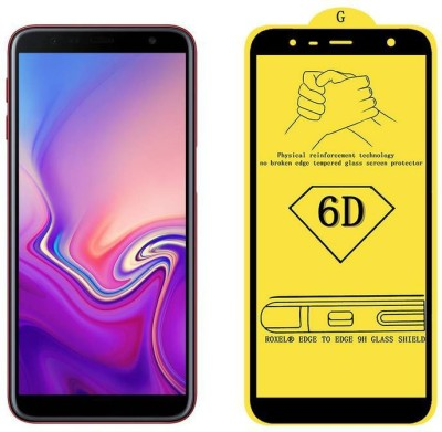 Unirock Edge To Edge Tempered Glass for Samsung Galaxy J6 Plus (Red, 64 GB) (4 GB RAM)(Pack of 1)