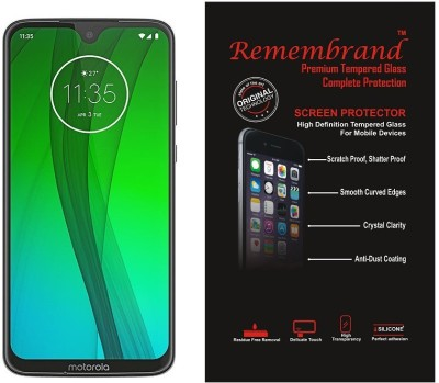 Remembrand Impossible Screen Guard for Motorola Moto G7 Plus(Pack of 1)