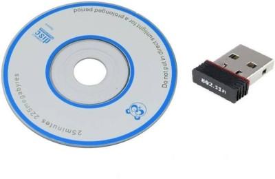 LS Letsshop 802 Wi-Fi Receiver 2.4Ghz 802.11B/G/N 300Mbps 2.0 Wireless Wi-Fi Network USB Adapter USB Adapter(Black)