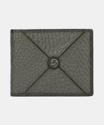 Da Milano Men Brown Genuine Leather Wallet(7 Card Slots)