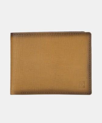 Da Milano Men Tan, Brown Genuine Leather Wallet(6 Card Slots)
