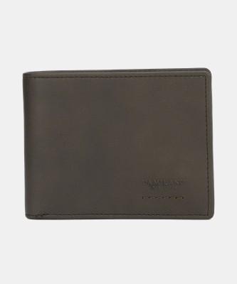 Da Milano Men Casual Brown Genuine Leather Wallet(6 Card Slots)