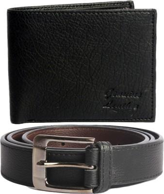 Good Life Stuff Belt, Wallet Combo(Black)