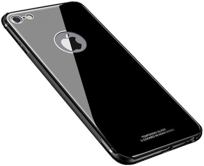 IDesign Back Cover for Apple iPhone 8(Black, Dual Protection)