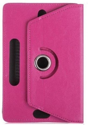 GIPTIP Book Cover for BSNL Penta T-Pad IS801C 8 inch(Pink, Cases with Holder)