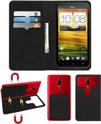 ACM Flip Cover for Htc One X(Black, Cases with Holder)