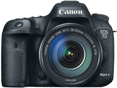 Canon EOS 7D Mark II DSLR Camera EF-S18-135mm IS USM(Black)