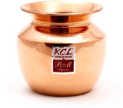 KCL Pure Copper Lota / Puja Kalash /Chambu - Water Drinking Lota - 900ML - 1 Quantity Copper Kalash(Height: 4.75 inch, Brown)