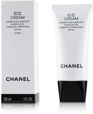 Chanel CC Cream Super Active Complete Correction SPF 50 # 30 Beige_4543(30 ml) at flipkart