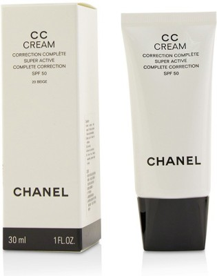 Chanel CC Cream Super Active Complete Correction SPF 50 # 20 Beige_3077(30 ml) at flipkart