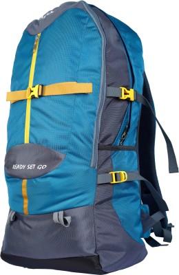 TRAWOC SHK009-BLUE Trekking Bag Hiking Backpack Travel Rucksack  - 55 L(Multicolor)