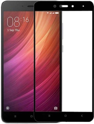 SHIV ELECTRONICS Edge To Edge Tempered Glass for Edge To Edge Tempered Glass For Mi Redmi Note 4 (6D Full Glue, 9H Glass)  (Pack Of 1)(Pack of 1)