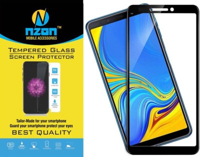 nzon Edge To Edge Tempered Glass for Lenovo K9 6D Original Full Coverage Curved Scratch Proof Bubble Free 0.3mm Tempered Glass for Lenovo K9 Screen Protector NZ-SLTG6DBK-8439 - Black(Pack of 1)
