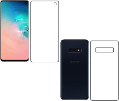 The Best Choice Nano Glass for Samsung galaxy S10 E front and back nano 360° screen guard/Full screen protector/Hammer glass/Anti fingerprint screen protector/Buff guard