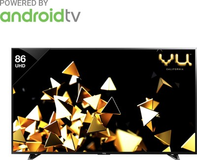 Vu Pixelight HDR 218cm (86 inch) Ultra HD (4K) LED Smart Android TV(VU/C/PXUHD86)