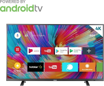 MarQ by Flipkart 109 cm  43  Ultra HD  4K  LED Smart Android TV 43SAUHD