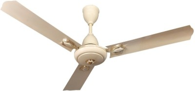 Gorilla Efficio 1200 mm BLDC Motor with Remote 3 Blade Ceiling Fan(Ivory, Pack of 1)