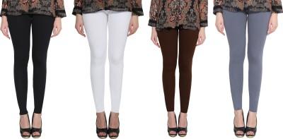Aditi Fashion Ankle Length  Legging(White, Brown, Black, Grey, Solid)