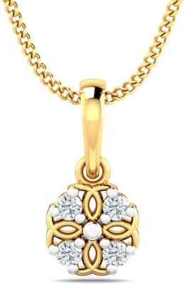 P.N.Gadgil Jewellers Constellation 22kt Cubic Zirconia Yellow Gold Pendant