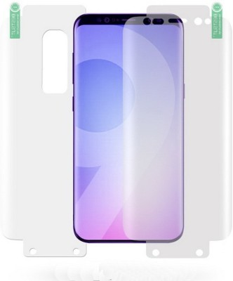 MobileZon Front and Back Screen Guard for Samsung Galaxy S9 Plus Full Edges Coverage Protector(Pack of 1)