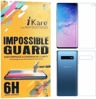 iKare Impossible Screen Guard for Samsung Galaxy S10 Plus