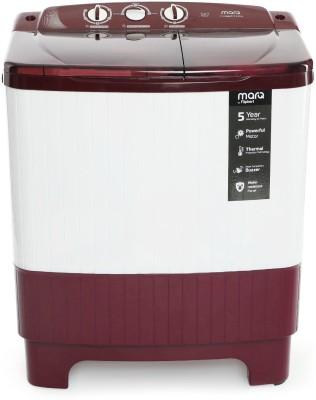 MarQ by Flipkart 6.2 kg Semi Automatic Top Load Washing Machine Maroon, White(MQSADW62) (MarQ by Flipkart)  Buy Online