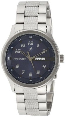 Fastrack NG3001SM02 Basics Analog Watch   For Men Fastrack Wrist Watches