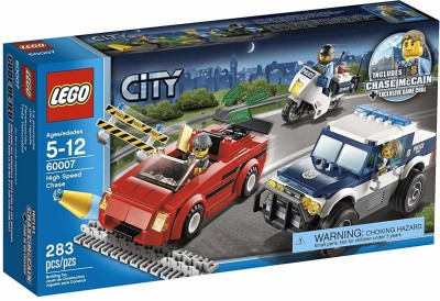 LEGO City Police High Speed Chase Building Set 60007 Multicolor
