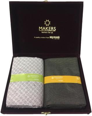 Raymond Poly Viscose Self Design Shirt & Trouser Fabric(Unstitched)