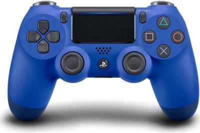 DXP Dualshock 4 Wireless Controller V2  Gamepad(Blue, For PS4) at flipkart
