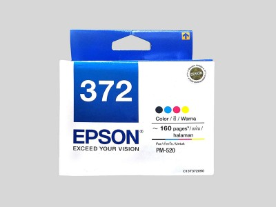 Epson T372 Photo Printer InkCartridge for T 372, PM 520 Multi Color Tri Color Ink Cartridge