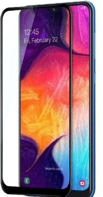 Accessories Kart Edge To Edge Tempered Glass for Samsung A50 Edge Edge curve ultra cut (9H)(5D)