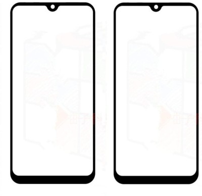 GeekMart Edge To Edge Tempered Glass for Realme 3, Vivo Y93(Pack of 2)