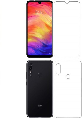 Sajni Creations Front and Back Screen Guard for Mi Redmi Note 7, Mi Redmi Note 7 Pro, Mi Redmi Note 7S(Pack of 2)
