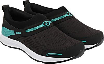 ADR ADRMOC007 BlackAqua Walking Shoes For Men(Black)