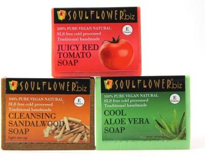 Soulflower Tan Removal Regime(3 x 150 g)