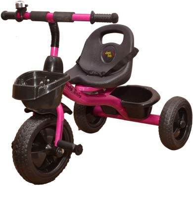 Stepupp Grow BABY TRICYCLE FOR KIDS WITH BASKET KIDS TRICYCLE RECOMMENDED TRICYCLE FOR BABY GIRL OR TRICYCLE FOR BABY BOY OR TRICYCLE FOR TODDLER GIRL OR TRICYCLE FOR TODDLER BOY RECOMMENDED FOR TODDLER 1,2,3,4,5 YEAR CHILDREN TRICYCLE FOR KIDS ST GROW TRICYCLE FOR KIDS BABY TRICYCLE 302202 Tricycle