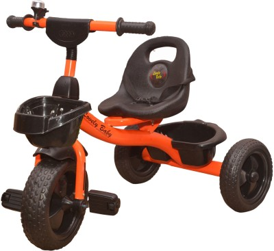 Stepupp Grow BABY TRICYCLE FOR KIDS WITH BASKET KIDS TRICYCLE RECOMMENDED TRICYCLE FOR BABY GIRL OR TRICYCLE FOR BABY BOY OR TRICYCLE FOR TODDLER GIRL OR TRICYCLE FOR TODDLER BOY RECOMMENDED FOR TODDLER 1,2,3,4,5 YEAR CHILDREN TRICYCLE FOR KIDS ST GROW TRICYCLE FOR KIDS BABY TRICYCLE 304403 Tricycle