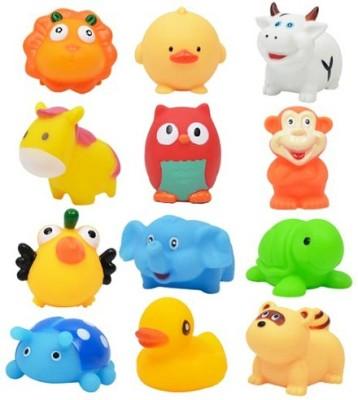 Eclet bath toy - 12 piece chuchu bathing toy for babies Bath Toy(Multicolor)