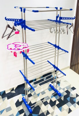 TNC Steel Floor Cloth Dryer Stand J005(3 Tier)