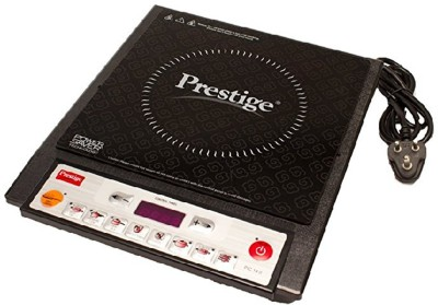 Prestige PIC 14.0 1900-Watt Induction Cooktop with Push Button Induction Cooktop(Black, Push Button)